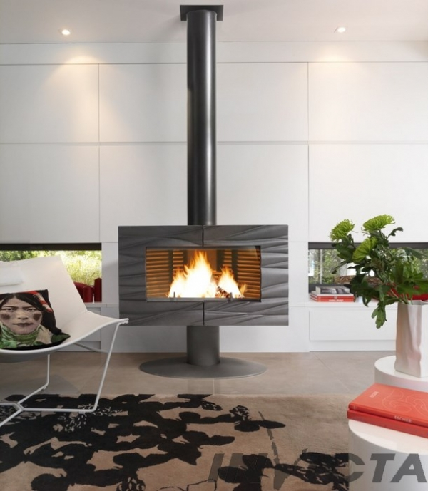 Invicta Theia Chimney-stove, Warmth and Style! 1