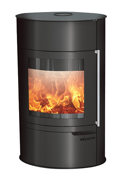 Invicta Tana on base steel stove 1