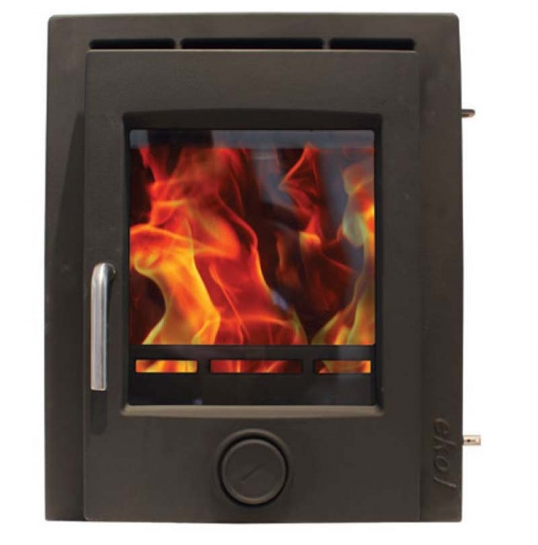 Ekol Inset 8 Multi Fuel Woodburning Stove 2