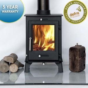 Ecosy+ Ottawa 5 wood burning stove 5kw