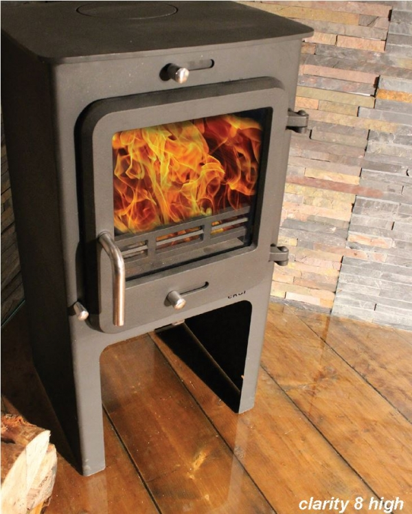 Ekol Clarity 8 High ;eg woodburning stove multi fuel - great prices