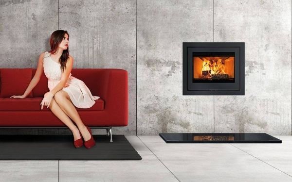 Di Lusso R6 Stove Wood burning inset stove Oxford