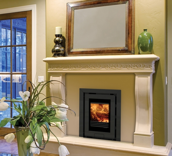 Di Lusso R4 Inset Woodburning Stove 5