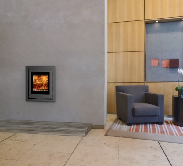 Di Lusso R4 Inset Woodburning Stove 2