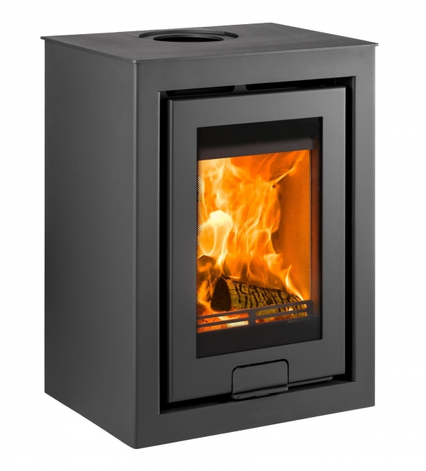 Di Lusso R4 Cube wood burning stove Dimensions