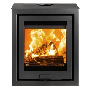 Di Lusso R5 Cube Wood Burning Stove Chelsea