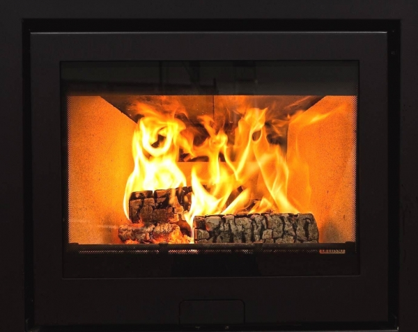 Di Lusso R6 Slimline Inset Woodburning Stove 1