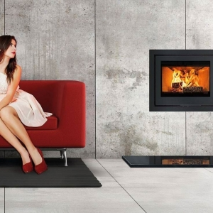 Di Lusso R6 Slimline Woodburning Stove UK
