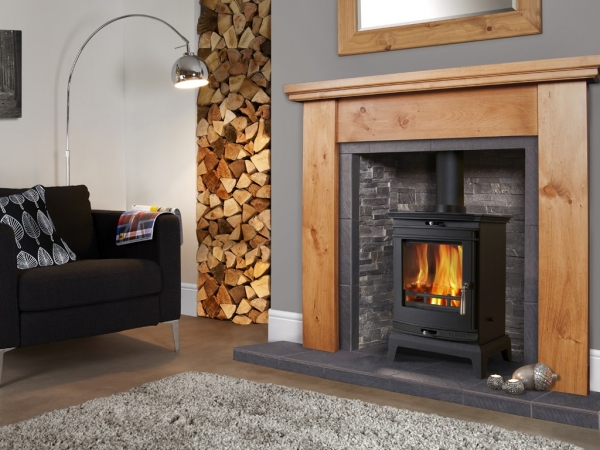 Flavel Rochester 5 Stove with black trim UK