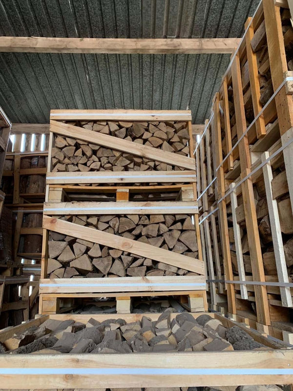 Kiln Dried Firewood 1m cubed Crate 1