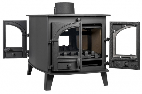 Parkray Consort 7 Double Sided Double Depth Stove 12