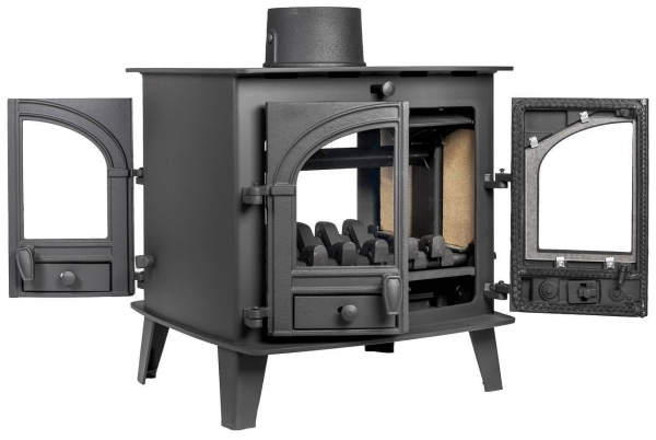Parkray Consort 7 Double Sided Single Depth Stove 1