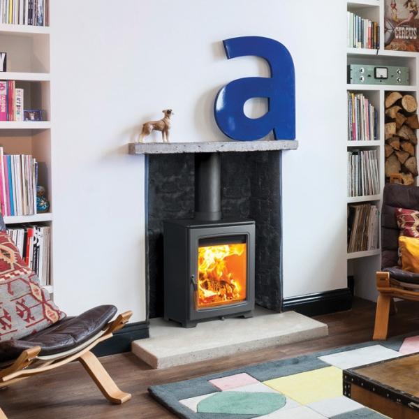 Parkray Aspect 4 Compact Woodburning Stove 4