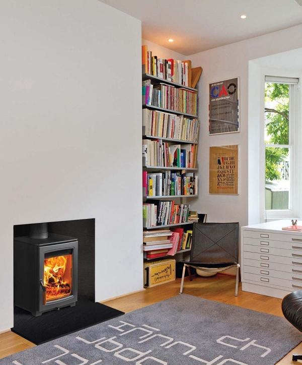 parkray aspect 4 woodburning stove at home UK