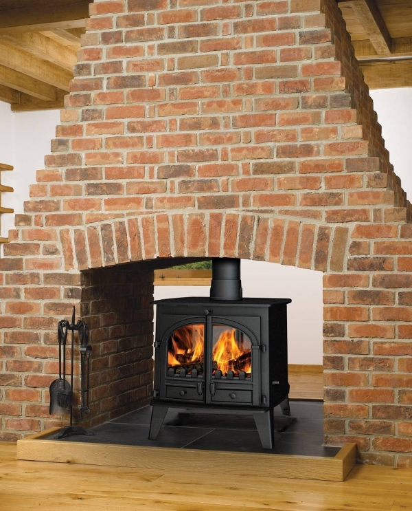 Parkray Consort 9 Double Sided Double Depth Stove 4