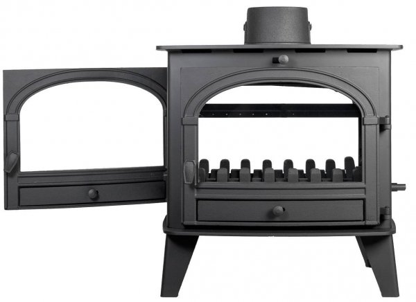 Parkray Consort 9 Double Sided Single Depth Stove 5