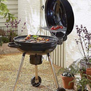 MasterChef Professional 54cm BBQ with Hinged Lid