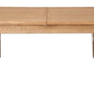 Oakwood Living Country Oak 1.2 Extending Dining Table 120-160