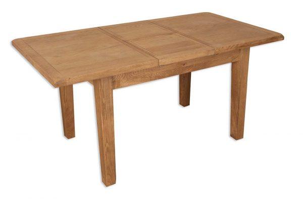 Oakwood Living Country Oak 1.6 Extending Dining Table 160-210 2