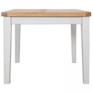 Oakwood Living Grey Painted Oak Dining Table 90