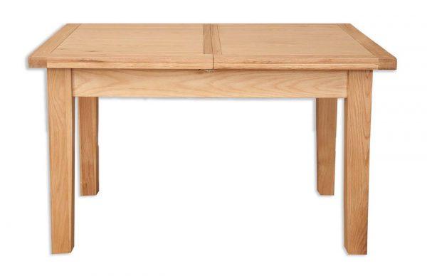 Oakwood Living Natural Oak 1.2 Extending Dining Table 120/160cm 2