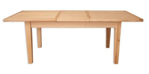 Oakwood Living Natural Oak 1.6 Extending Dining Table 160/210cm 1