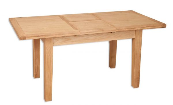 Oakwood Living Natural Oak 1.6 Extending Dining Table 160/210cm 3