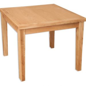 Oakwood Living Natural Oak Dining Table 90cm