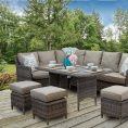 Rattan Outdoor Patio Garden Corner Sofa DiningTable Chairs Set natural