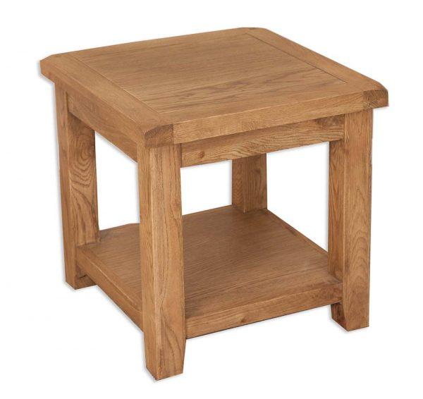 Oakwood Living Country Oak Lamp Table