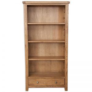 Oakwood Living Country Oak Large Bookcase