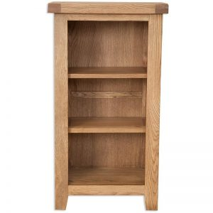 Oakwood Living Country Oak Small BookcaseDVD Rack