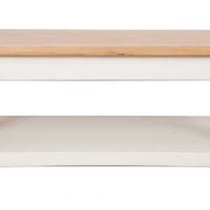 Oakwood Living Ivory Painted Oak Coffee Table