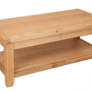 Oakwood Living Natural Oak Coffee Table