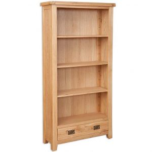Oakwood Living Natural Oak Large Bookcase